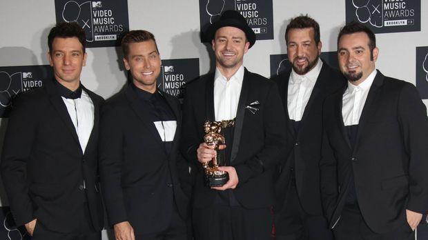 """*NSYNC""-Reunion mit Justin Timberlake: Neues Album nur ..."