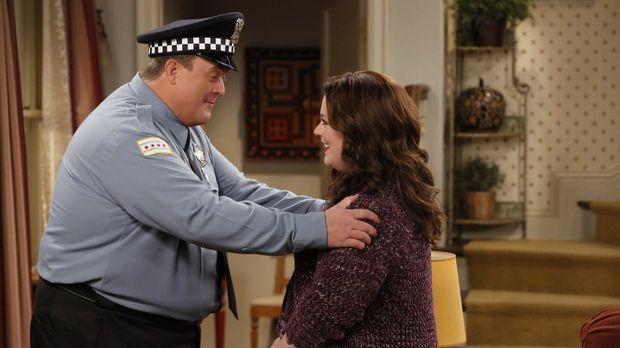 Für Mike (Billy Gardell, l.) ist Molly (Melissa McCarthy, r.) nicht nur seine...