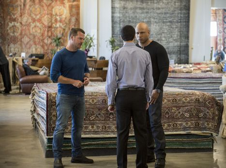 Navy CIS: L.A. - Das Team um Callen (Chris O'Donnell, l.) und Sam (LL Cool J,...
