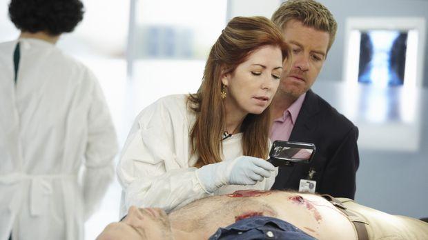 Dank ihrer überragenden medizinischen Kenntnisse ist Dr. Megan Hunt (Dana Del...