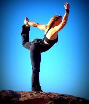 Yoga Sport im Freien