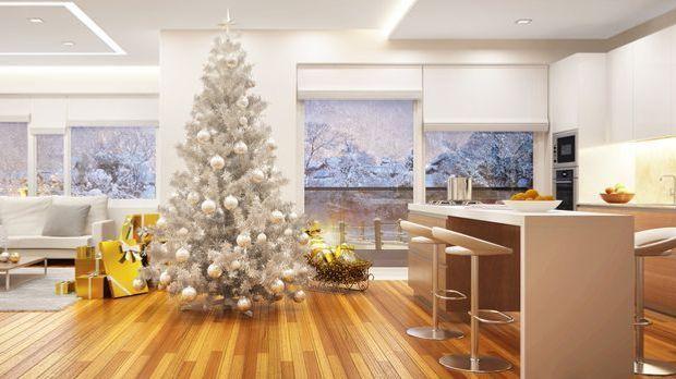 Weihnachtsbaum Weiß Fotolia_95797495_slavun