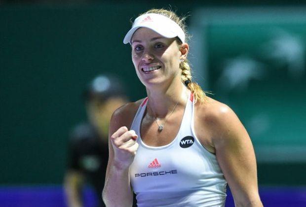 Angelique Kerber hat ein Polster auf Serena Williams