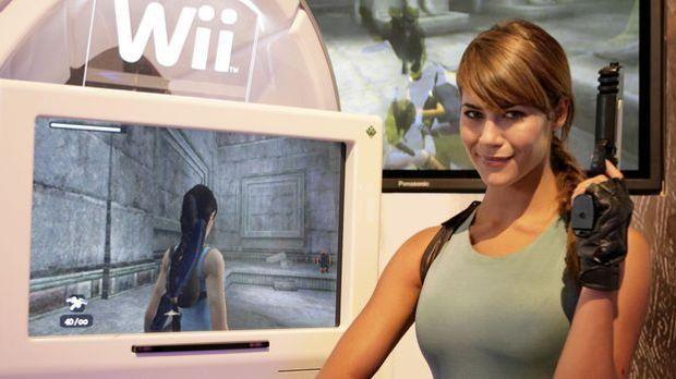 Lara Croft Kostüm_dpa