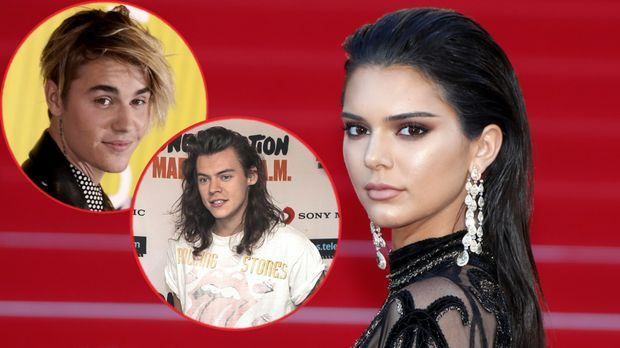"""""""One Direction""""-Star Harry Styles: Kendall Jenner nur in Justin Bie..."""