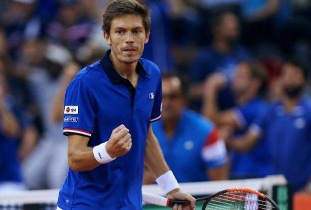 Mahut und Frankreich stehen im Davis-Cup-Halbfinale