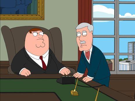Family Guy - Carter Pewterschmidt (r.) hat echte Probleme, seinen Schwiegerso...