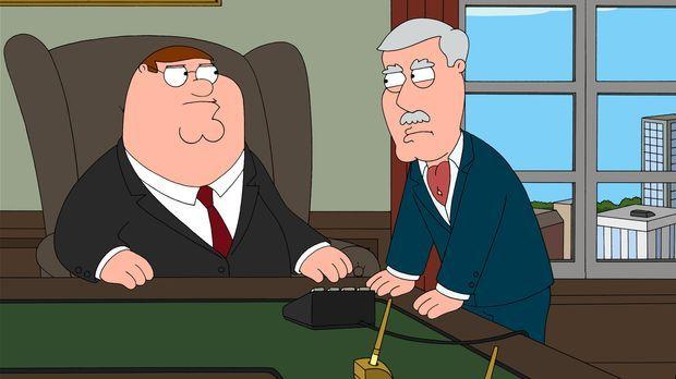 Carter Pewterschmidt (r.) hat echte Probleme, seinen Schwiegersohn Peter (l.)...