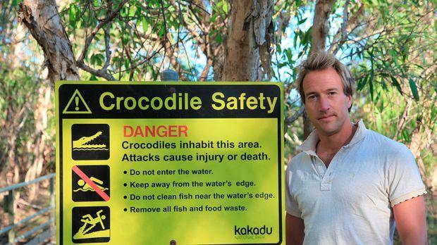 Auch Ben Fogle sollte sich an die Warnungen halten, aber trotzdem lässt er si...