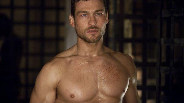 Über den Verlust seiner geliebten Frau kommt Spartacus (Andy Whitfield) kaum...