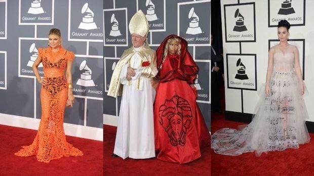 Die Style-Pannen der Grammys