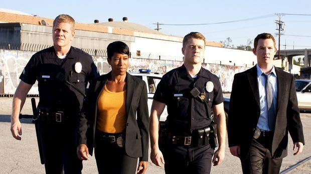 (4. Staffel) - Ein eingespieltes Team: Officer John Cooper (Michael Cudlitz,...