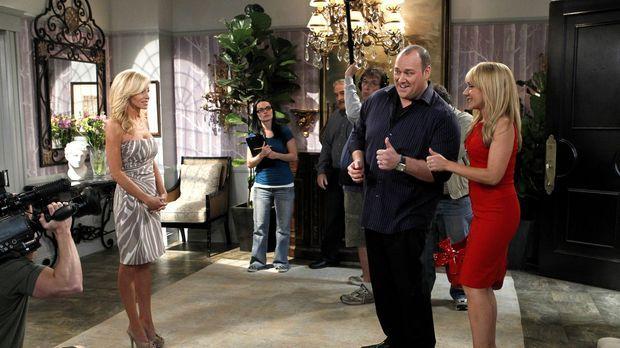 Vince (Will Sasso, M,) und Bonnie (Nicole Sullivan, r.) haben die Chance in e...