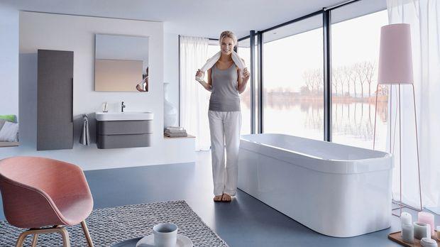Bad-einrichtung ? Kreative Tipps Fürs Badezimmer - Sat.1 Ratgeber Einrichtung Badezimmer