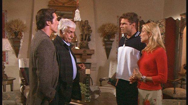 (v.l.n.r.) Steve (Barry Van Dyke) und Mark (Dick Van Dyke) konfrontieren Jim...