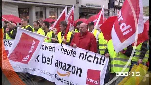 100 Sekunden Amazon Streik