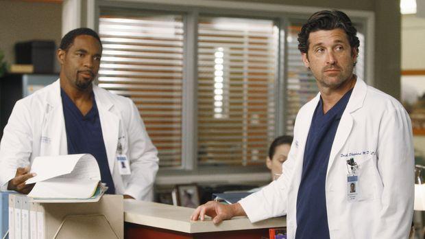 Während Ben (Jason George, l.) zurückkehrt um festzustellen, dass Bailey mit...