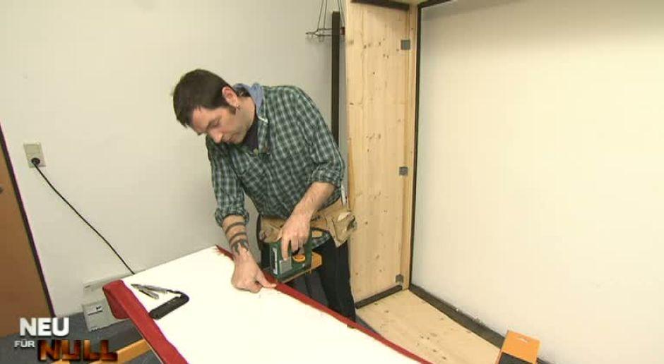 Neu für Null - Video - Wohnprofi-Tipp: Stoffbezug für den Schrank ...