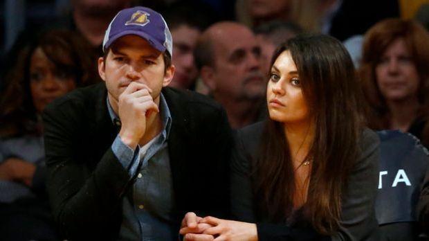 """""""Two and a Half Men""""-Star Ashton Kutcher: Mila Kunis hält ihn am Boden"""