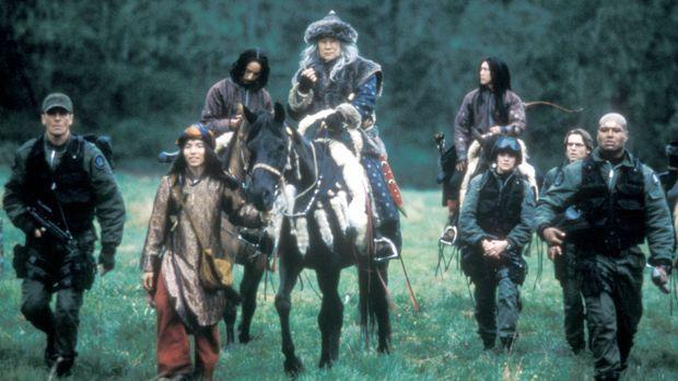 Die Truppe des SG-1 trifft auf dem Planeten Simarka auf das Volk der Shavadai...