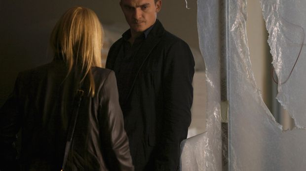 Quinn (Rupert Friend, r.) kehrt nach Islamabad zurück. Zusammen mit Carrie (C...