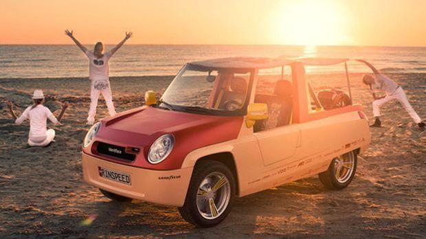 Das Sun&Fun-Car von Rinspeed: der Bamboo