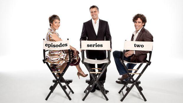 (2. Staffel) - Die Ehe der Lincolns (Tamsin Greig, l. und Stephen Mangan, r.)...