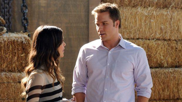 Dass George (Scott Porter, r.) sich mit Zoe (Rachel Bilson, l.) gut versteht,...