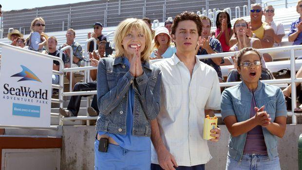 Verbringen einen netten Tag zusammen: Elliot (Sarah Chalke, l.), J.D. (Zach B...