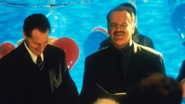 Ein gefeierter Mann: Detective Black (Jack Nicholsen, r.) kann auf ein erfolg...