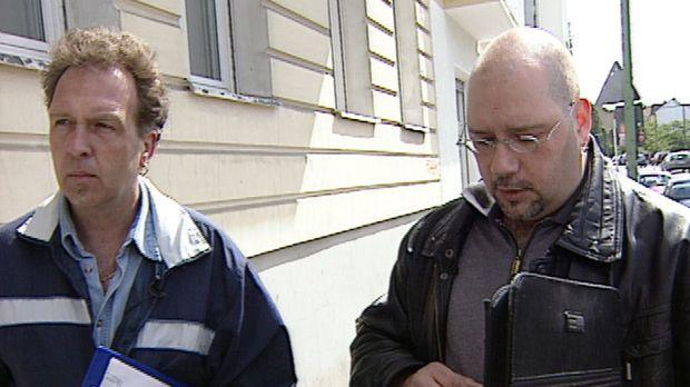 Wenn die beiden Prüfer Ralf Dierig (l.) und Andreas Albrecht (r.) vom Berline...