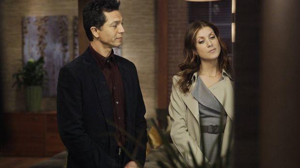Zwischen Addison (Kate Walsh, r.) und Jake (Benjamin Bratt, l.) sprühen die F...