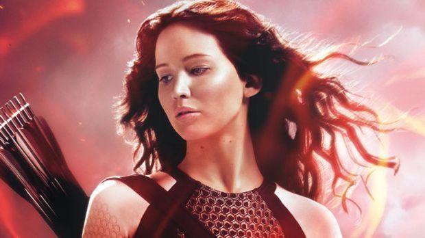 Katniss Catching Fire Poster
