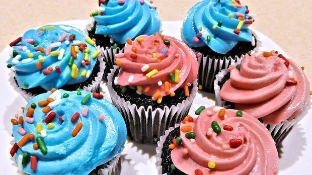 Nicht nur perfekt für Kindergeburtstage: süße Cupcakes.