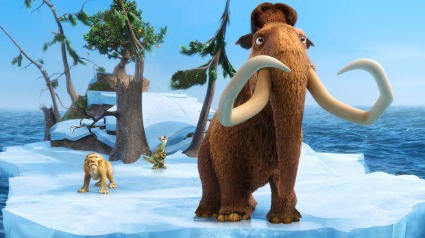 Ice Age 4 - Voll verschoben - Nach der Verschiebung der Kontinentalplatten fi...