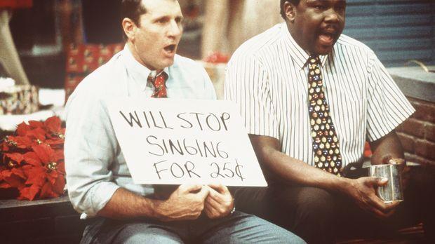 Die beiden arbeitslosen Al (Ed O'Neill, l.) und Griff (Harold Sylvester, r.)...