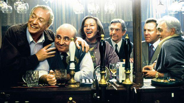 Noch haben (v.l.n.r.) Jack (Michael Caine), Ray (Bob Hoskins), Amy (Helen Mir...