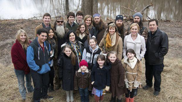 Die Robertsons organisieren ein Familientreffen, um Mia gebührend zu verabsch...