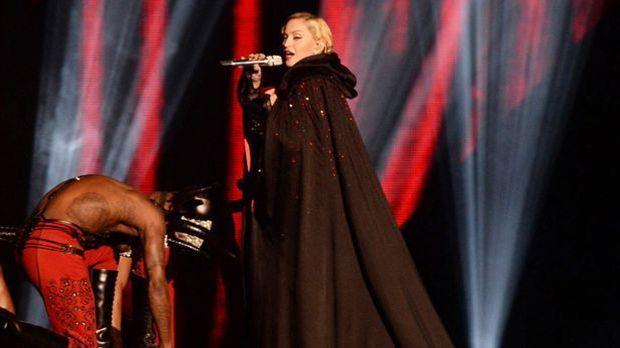 Madonnas Sturz bei den Brit-Awards
