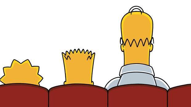 Familienausflug ins Kino: Familie Simpson sieht sich einen