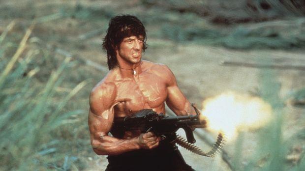 Rambo (Sylvester Stallone) hat nur noch ein Ziel: Er möchte die Gefangenen be...
