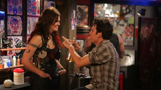 Als plötzlich Robin mit einem neuen Freund auftaucht, fühlt sich Ted (Josh Ra...