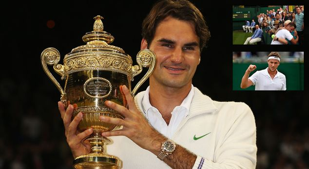 Federer-vs.-Willis - Bildquelle: 2012 Getty Images