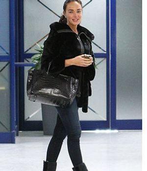 Marion Cotillard trägt Mou Stiefel