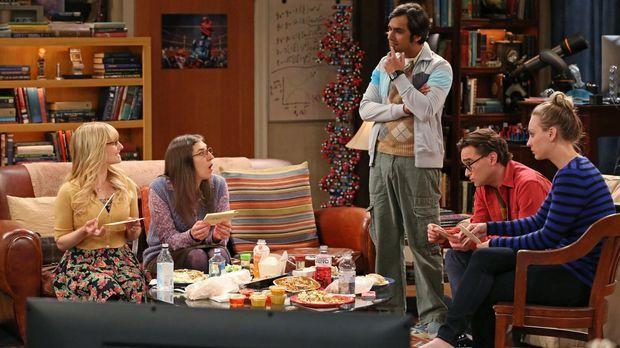 The Big Bang Theory - Mit seinem Überraschungs-Krimi-Dinner macht Raj (Kunal...