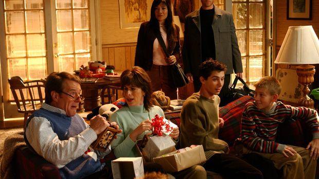 Ein anderes Weihnachtsfest: Hal (Bryan Cranston, l.), Lois (Jane Kaczmarek, 2...