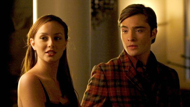 Werden sie zusammenfinden? Chuck (Ed Westwick, r.) und Blair (Leighton Meeste...