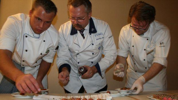 Ein Spezialauftrag für Küchendirektor Peter Griebel, M. vom Hotel
