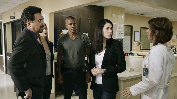 Machen sich große Sorgen um Hotch. Doch kann ihnen Dr. Zwerling (Laura Niemi,...