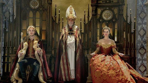 Nach dem Tod Henrys werden Francis (Toby Regbo, l) und Mary (Adelaide Kane, r...